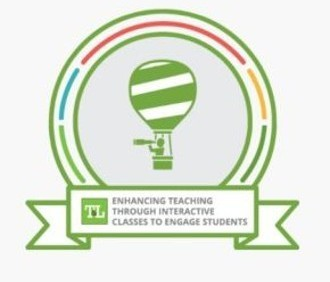 Enhancing Teaching Through Interactive Classes to Engage Students, EnTICE', Digital Badge,